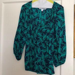 Diane Von Frustenberg Silk Top